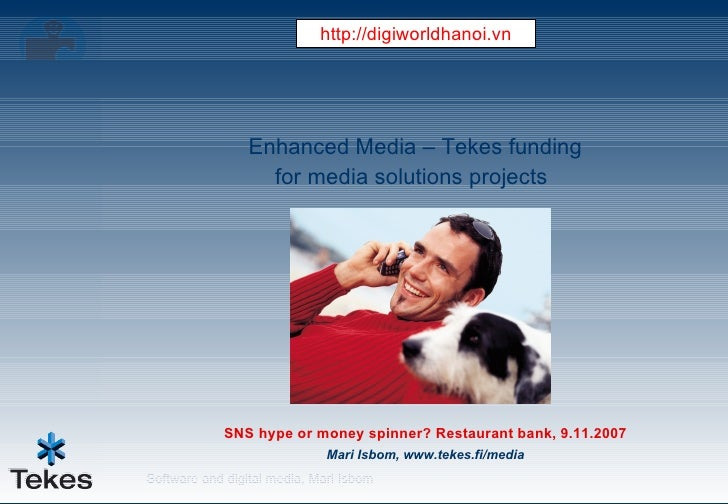 Enhanced Media – Tekes Funding For Media Solutions Projects