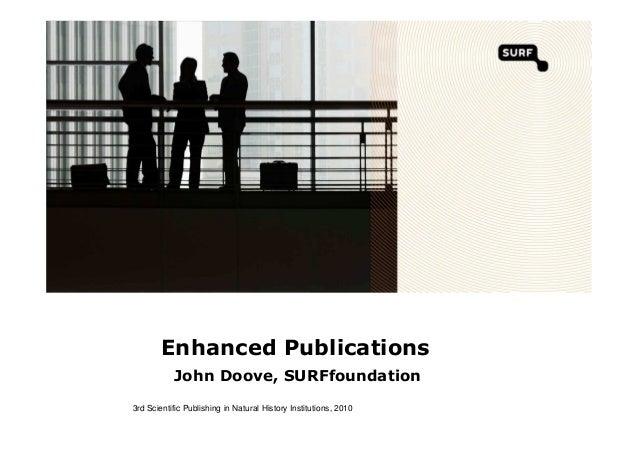 Enhanced Publications by John Doove