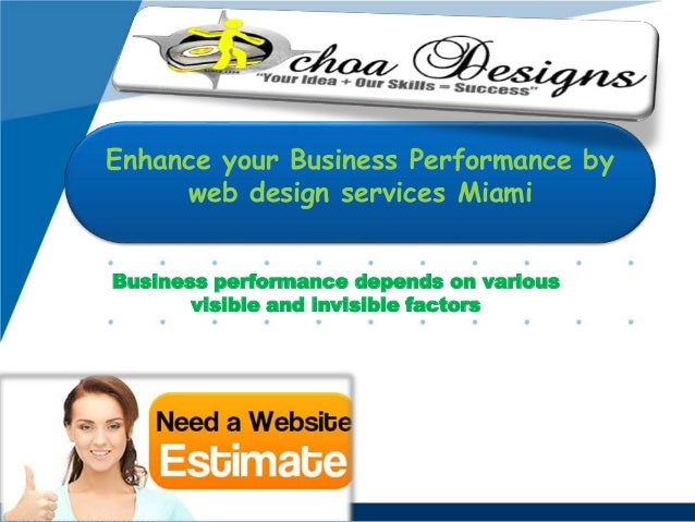 Business performance depends on various visible and invisible factors Enhance your Business Performance by web design serv...