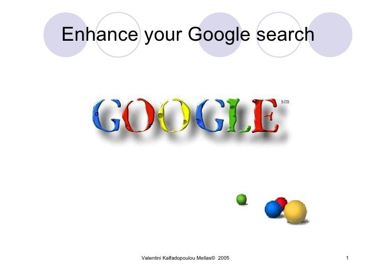 Enhance your Google search