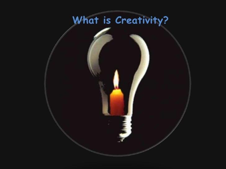 Enhancing Creativity1