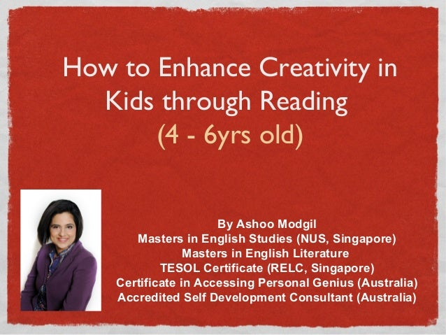Enhancing creativity through reading