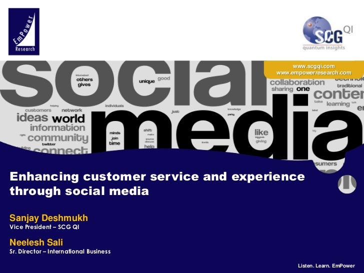 The Customer Show - 2011- Enhancing customer service and experience through social media