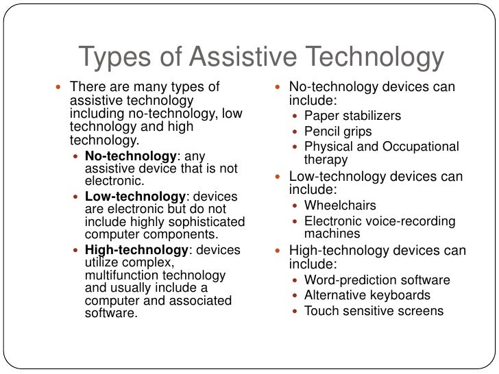Enhancing our special needs students with technological ...