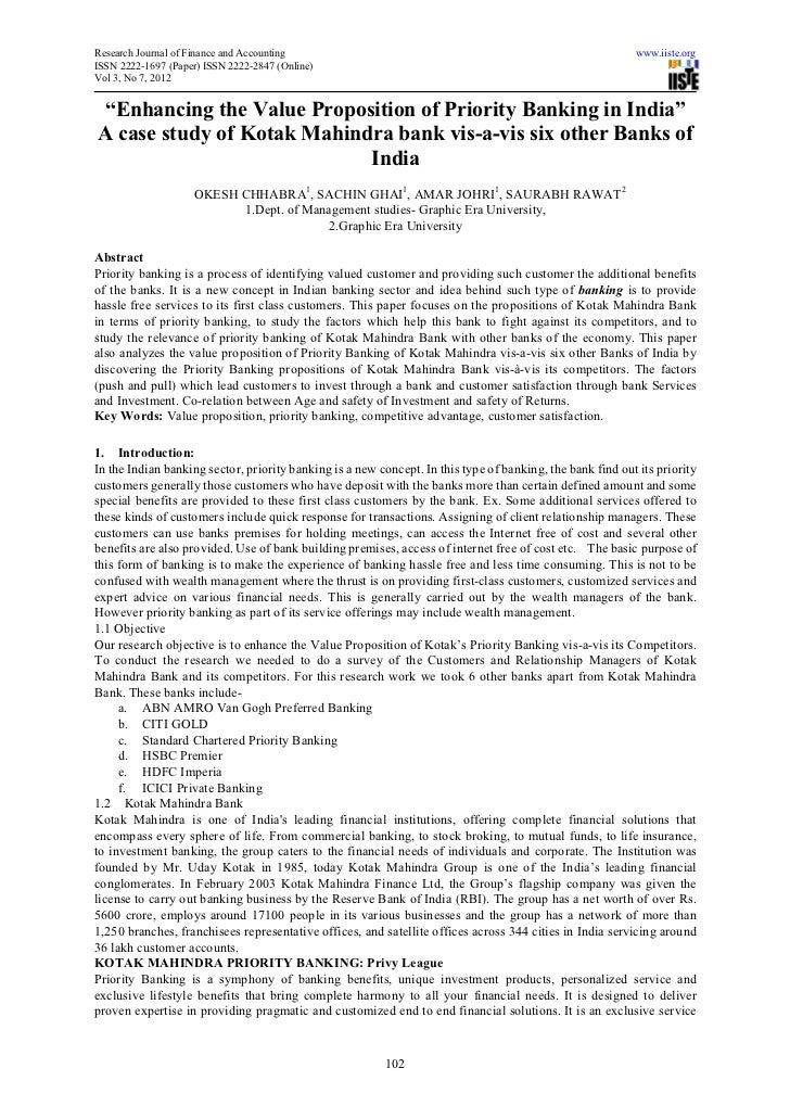 Research Journal of Finance and Accounting                                                                 www.iiste.orgIS...