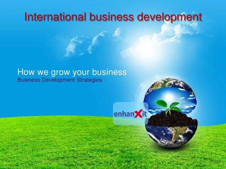 Enhanxit international business development