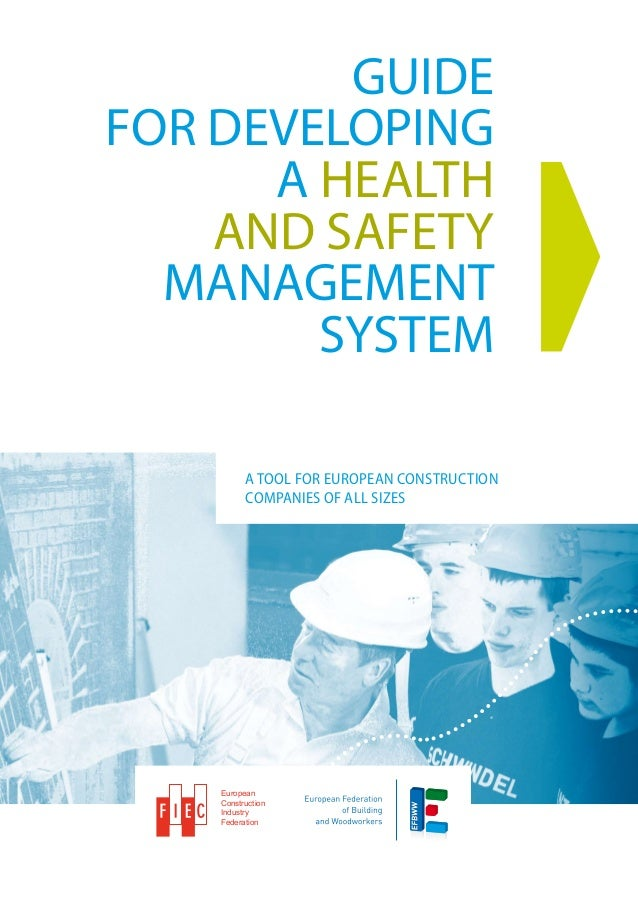 GUIDEFOR DEVELOPING      A HEALTH    AND SAFETY  MANAGEMENT        SYSTEM          A tool for European construction       ...