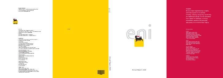 Eni 2009 Annual Report