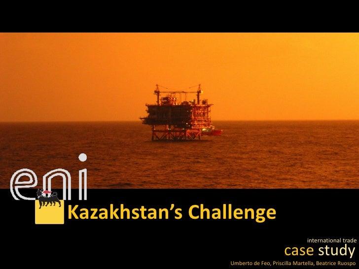 Kazakhstan's Challenge                                                international trade                                 ...