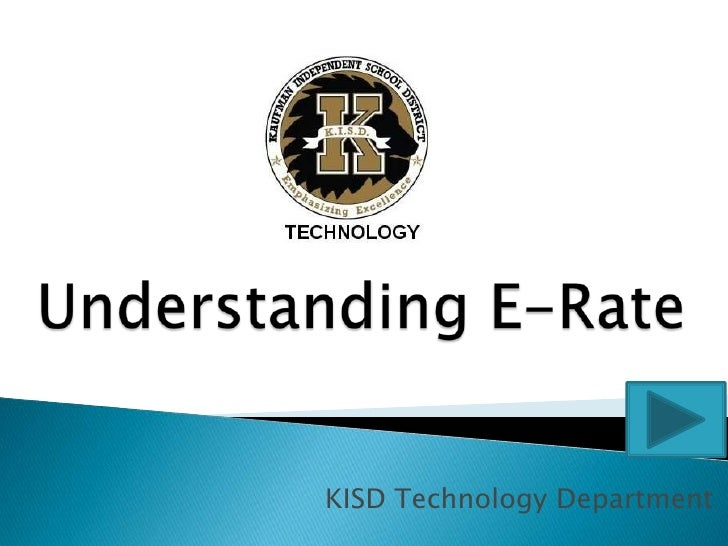 KISD E-Rate Overview