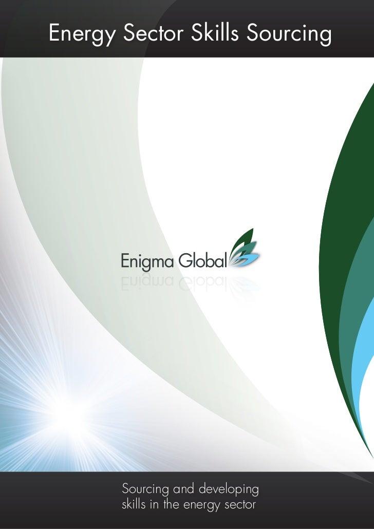 Energy Sector Skills Sourcing                                                                          Pg 1               ...