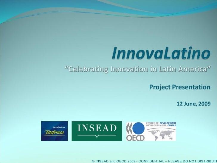 Innovalatino- a brief overview