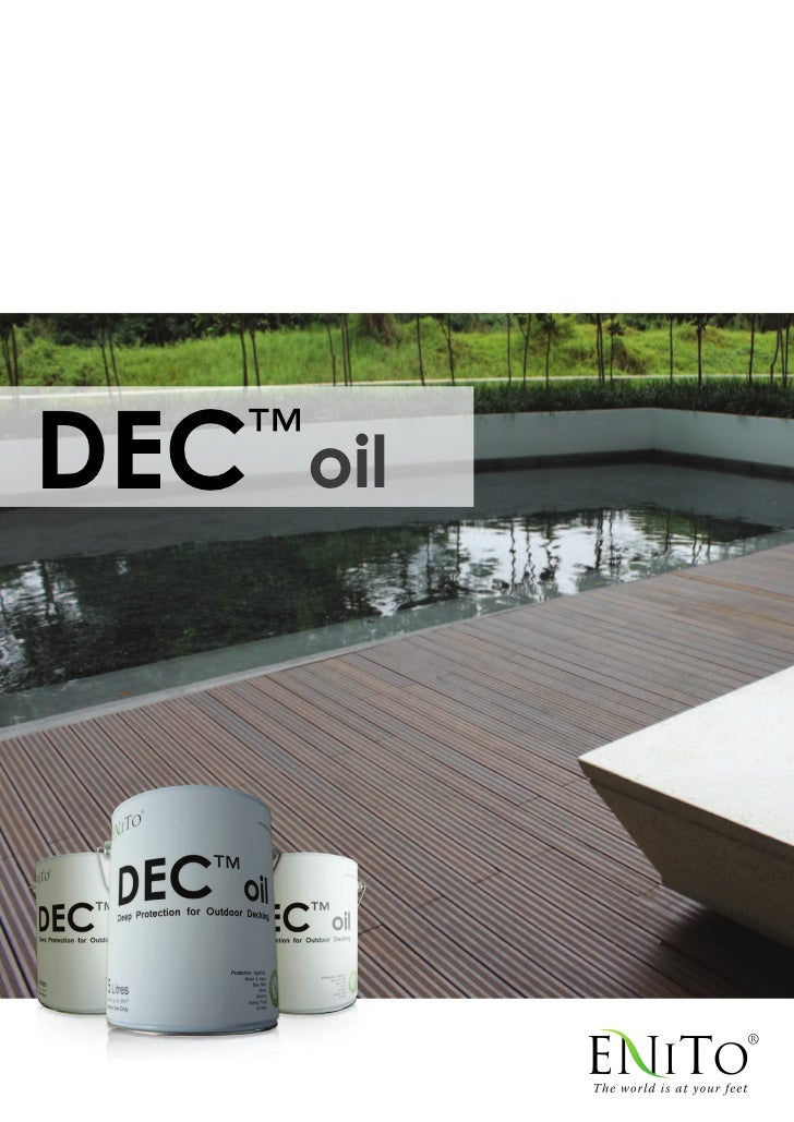 DEC   ™          oil