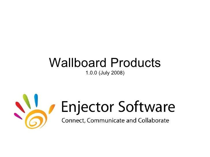 Wallboard Products 1.0.0 (July 2008)