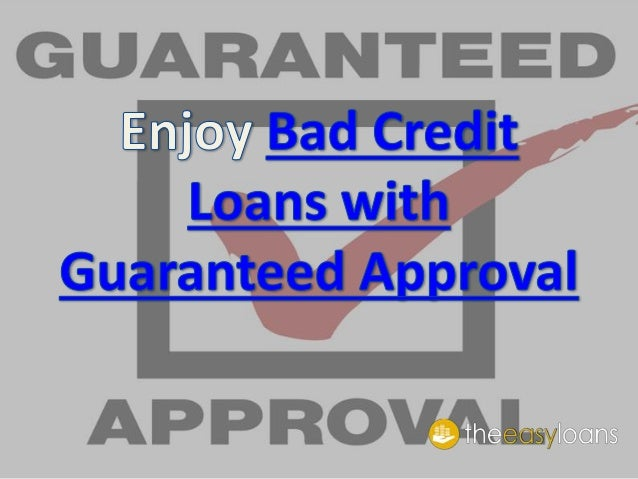 Is it possible to get Guaranteed Auto loans? Do they exist for Bad Credit Car Buyers?