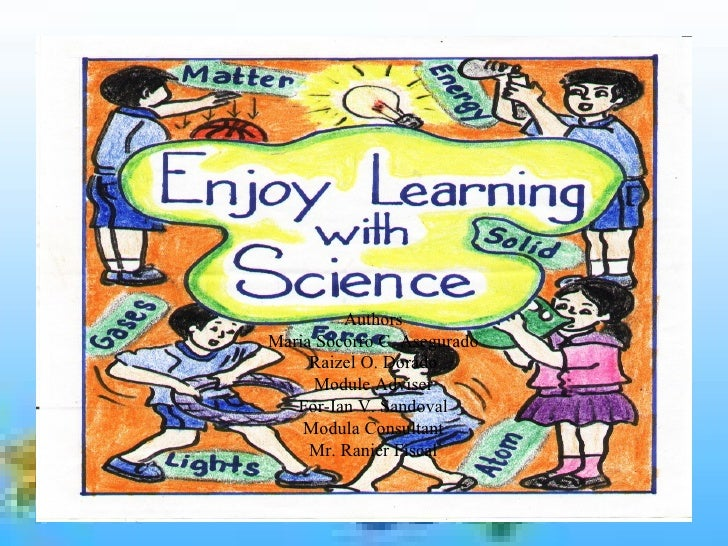 Enjoy Learning With Science