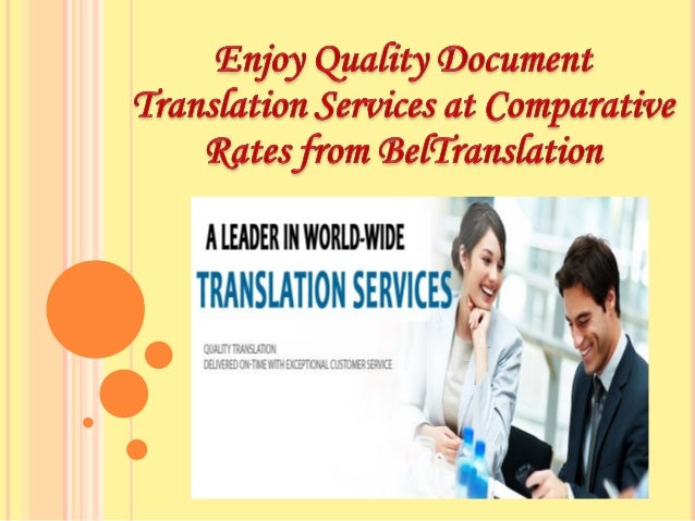 The to russian document translation services