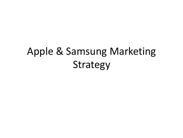 Marketing strategy of samsung galaxy