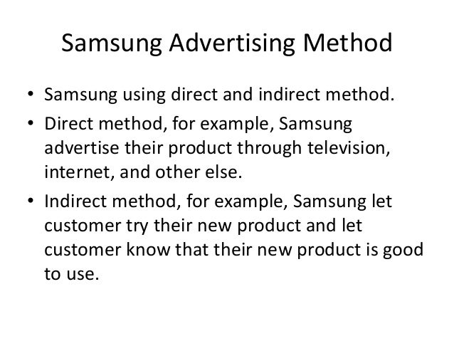 marketing samsung essay Introduction samsung was founded by byung-chull lee on march 1, 1938, in taegu, korea, with 30,000 won initially his business focused primarily on trade export, selling dried korean fish, vegetables, and fruit to manchuria and beijing.