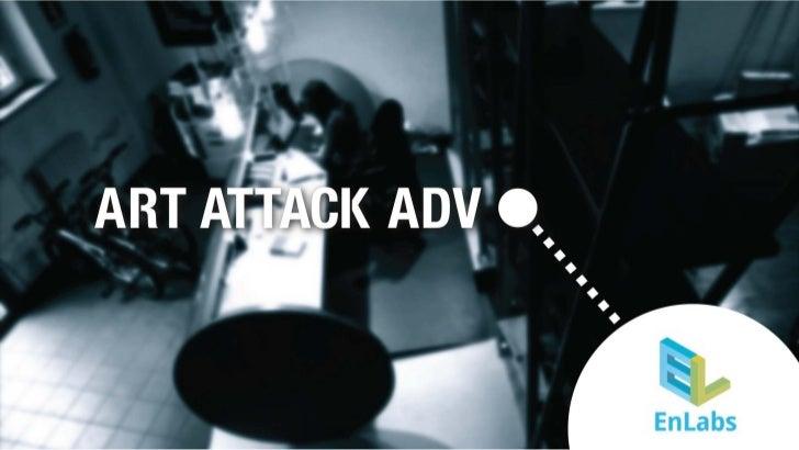Art Attack Adv per EnLabs: Facebook
