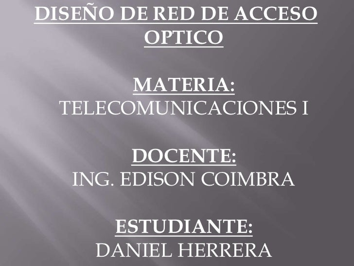 Enlace fibra optica