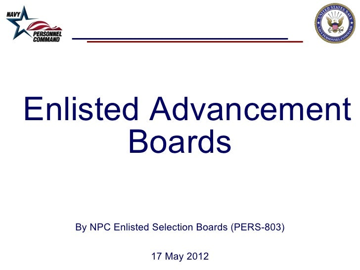 Enl advancement board brief for pers 803 webpage (17 may12)
