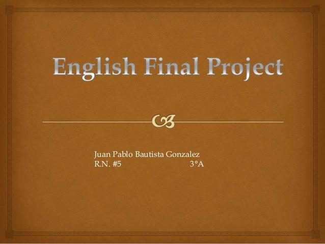 Enlglish class final project