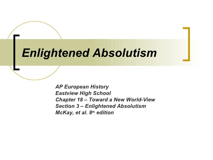 Enlightened Absolutism V2007