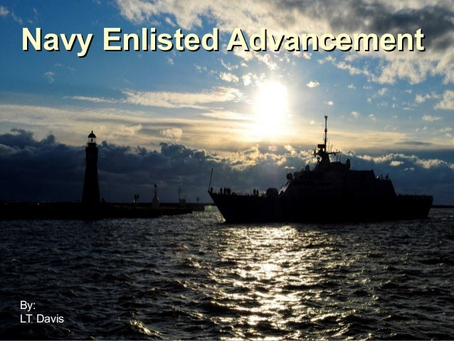Enlisted advancement1