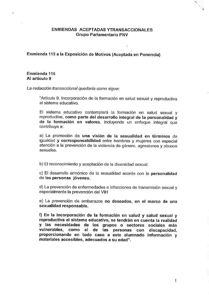Enmiendas a la ley del aborto
