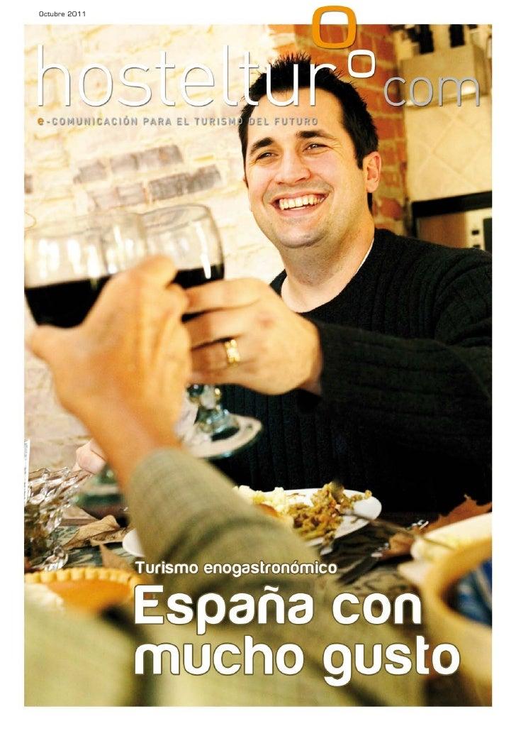 Enogastroturismo 2011 - España con mucho gusto