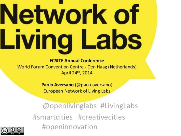 ECSITE Annual Conference World Forum Convention Centre - Den Haag (Netherlands) April 24th, 2014 Paolo Aversano (@paoloave...