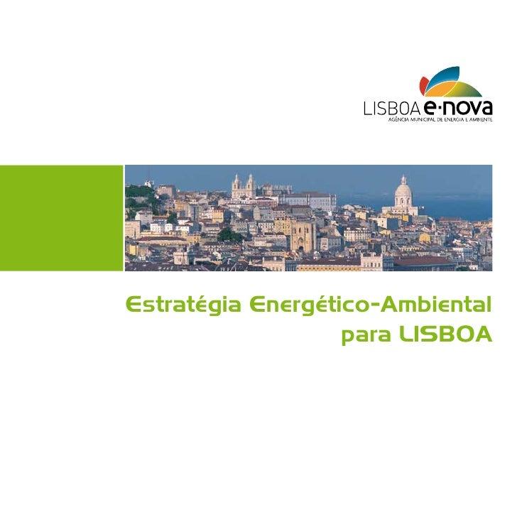 Estratégia Energético-Ambiental para Lisboa
