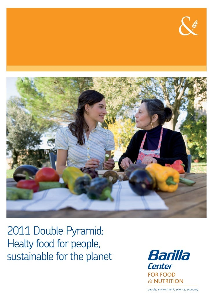 2011 Double Pyramid:Healty food for people,sustainable for the planet