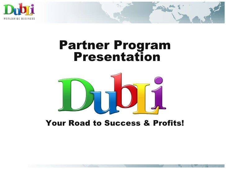 Presentacion Programa Partner.