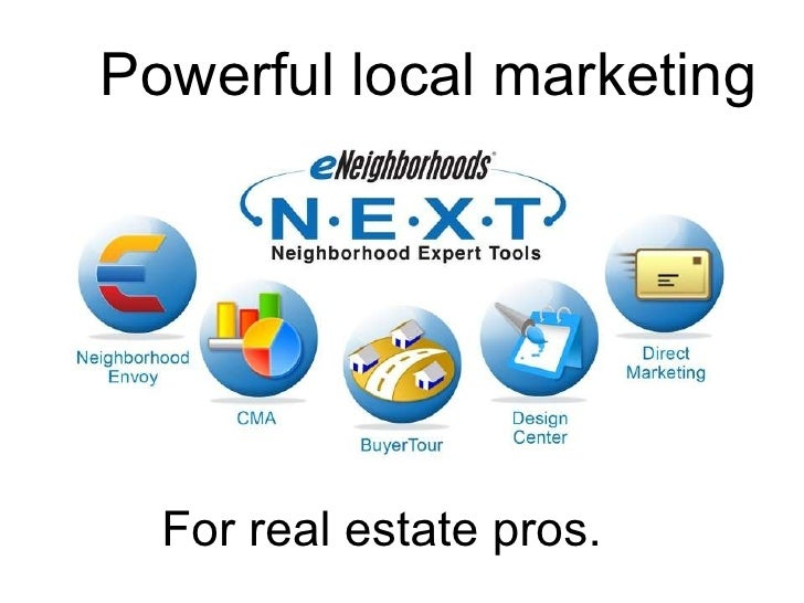 Powerful local marketing For real estate pros.