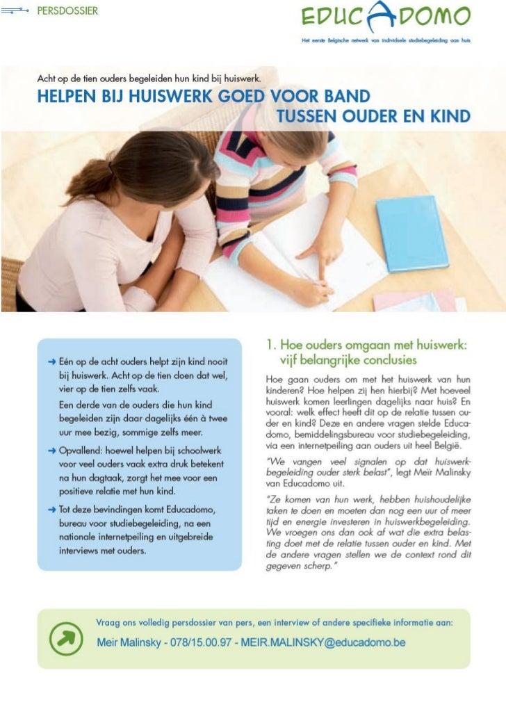 Educadodomo : onderzoek over de begeleiding tussen ouder en kind