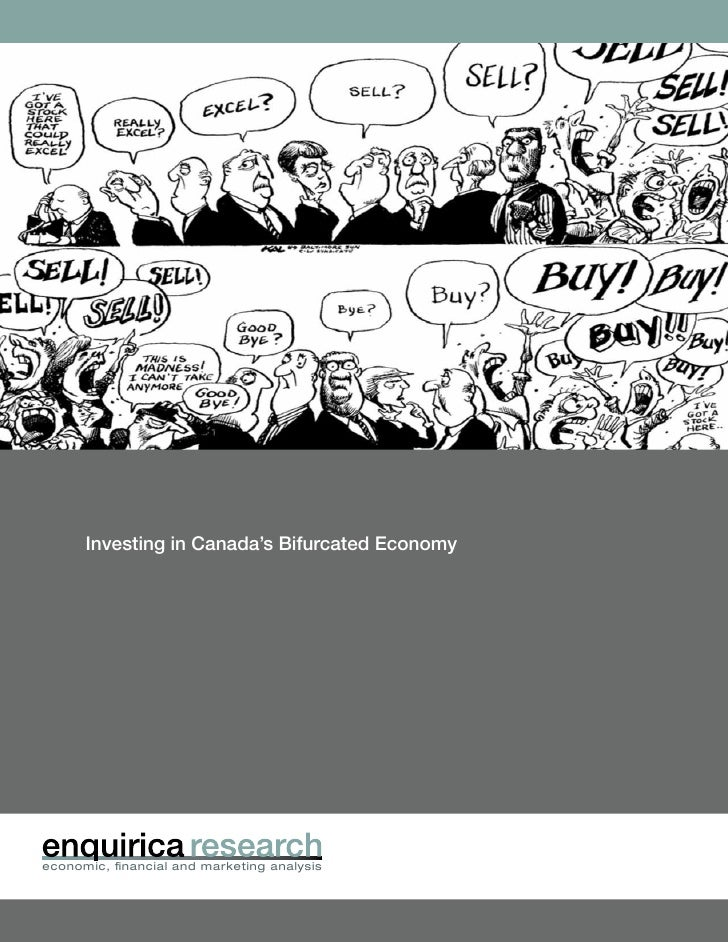 Enquirica Research - Investing in Canada's Bifurcated Economy Aug 2010