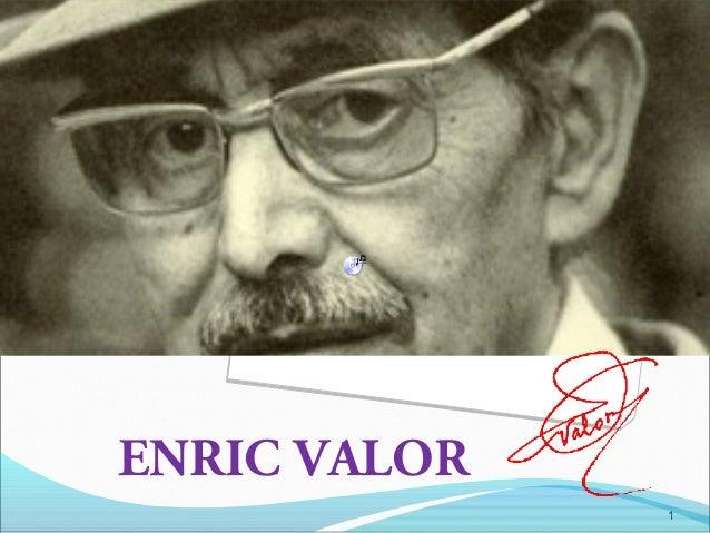 ENRIC VALOR 1