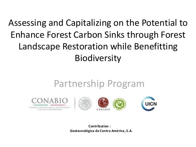Assessing and Capitalizing on the Potential to Enhance Forest Carbon Sinks through Forest Landscape Restoration while Bene...