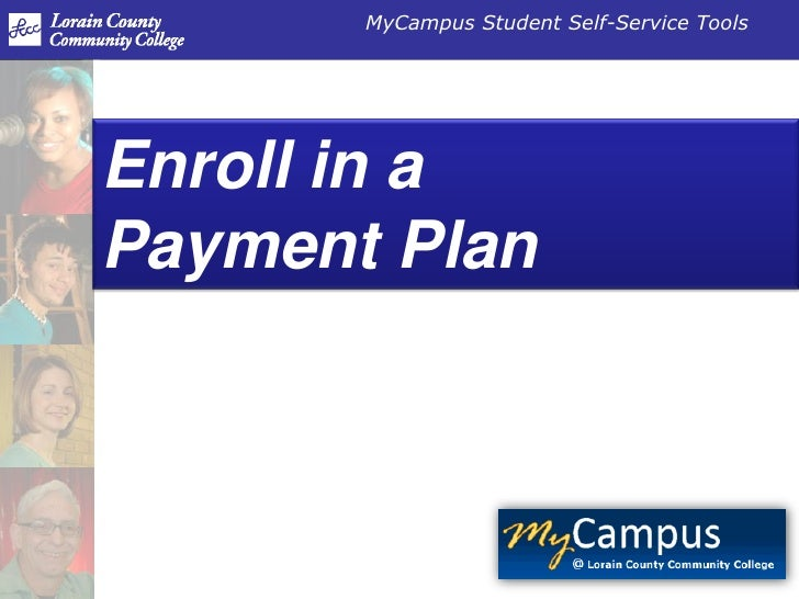 Enroll in a Payment Plan<br />