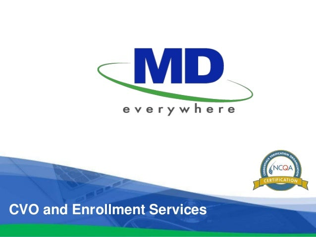 CVO and Enrollment Services