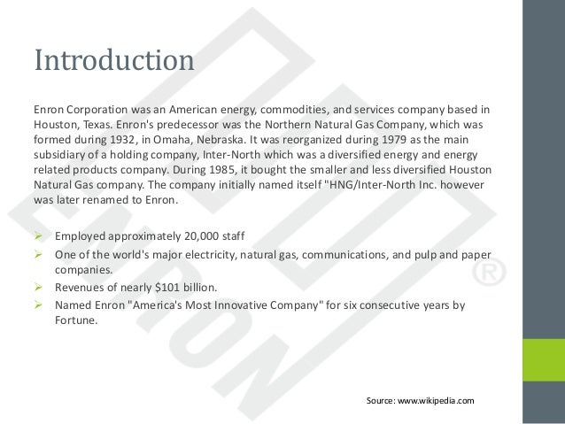 Enron Case Study Analysis Essay Sample