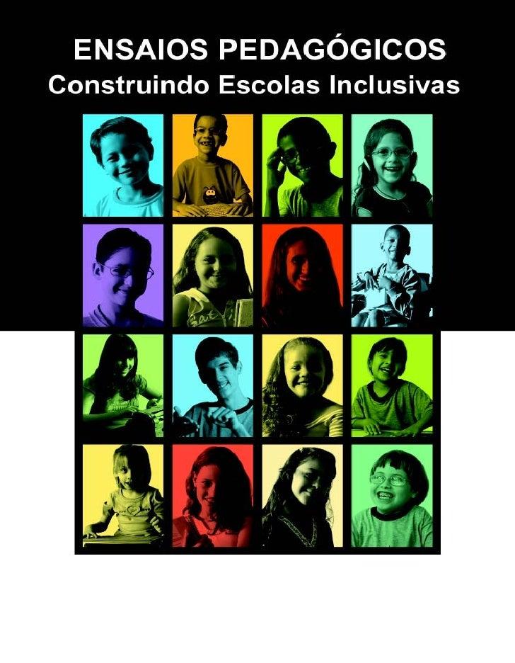 MINISTÉRIO DA EDUCAÇÃO     SECRETARIA DE EDUCAÇÃO ESPECIAL        ENSAIOS PEDAGÓGICOS  Construindo Escolas Inclusivas     ...