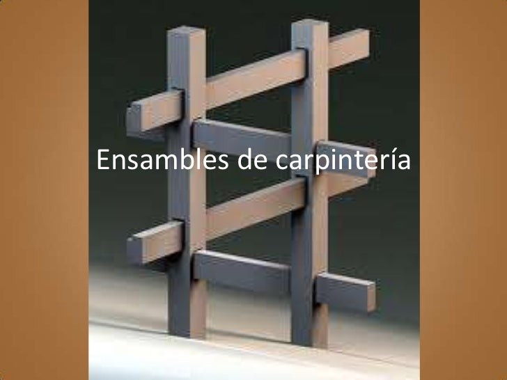 Ensambles de carpinter a for Manual de carpinteria muebles pdf