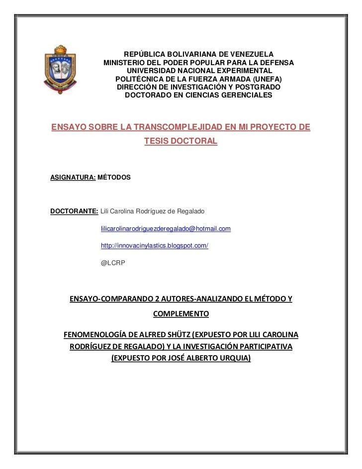 -146685-123825REPÚBLICA BOLIVARIANA DE VENEZUELA<br />MINISTERIO DEL PODER POPULAR PARA LA DEFENSA<br /> UNIVERSIDAD NACIO...
