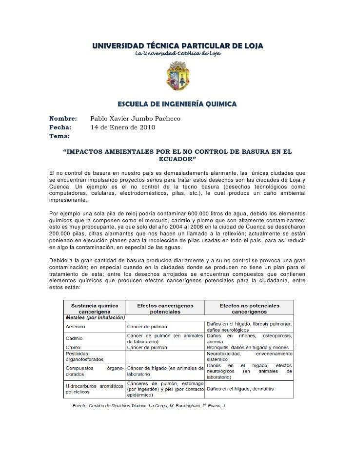 UNIVERSIDAD TÉCNICA PARTICULAR DE LOJA<br />La Universidad Católica de Loja<br />255841511430<br />ESCUELA DE INGENIERÍA Q...