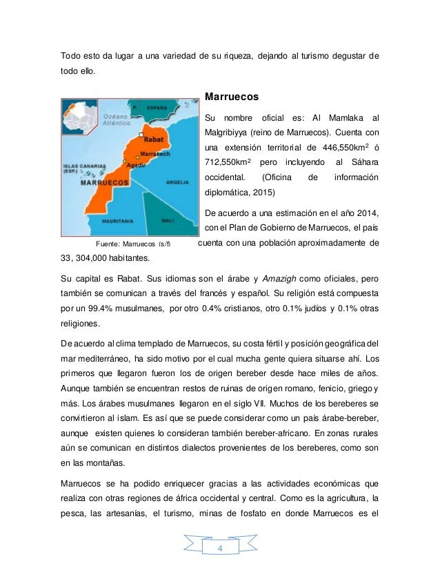 Ensayo marruecos for Oficina turismo marruecos