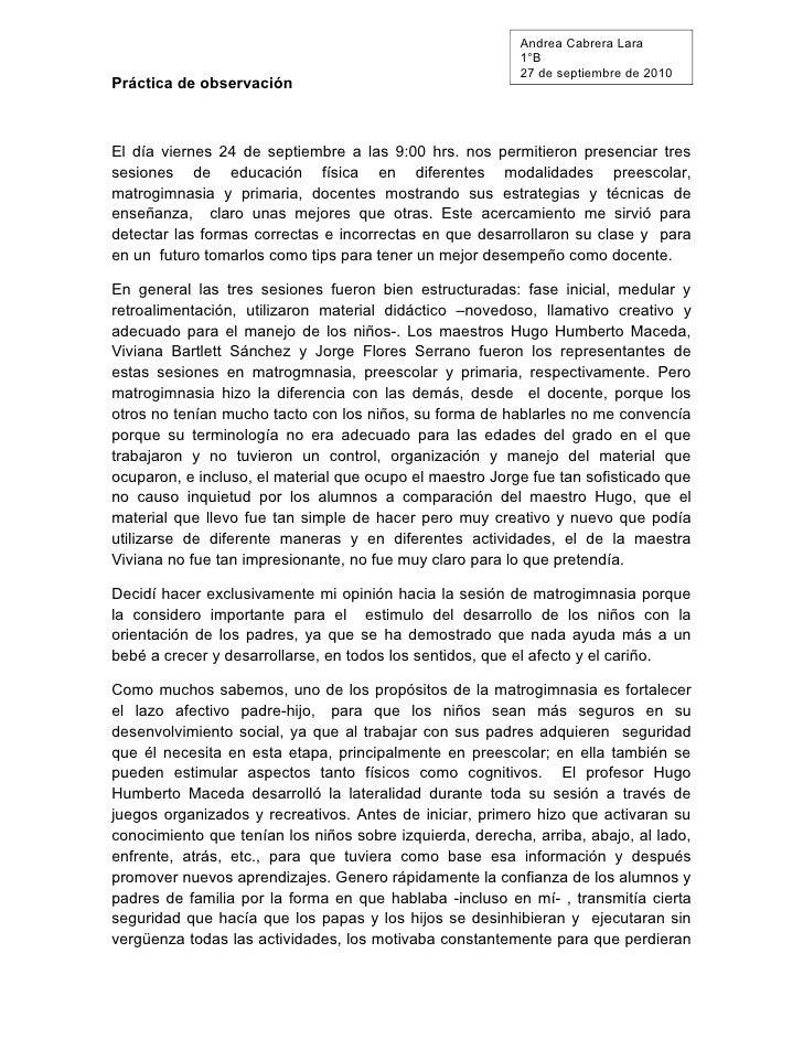 Andrea Cabrera Lara                                                           1°B                                         ...