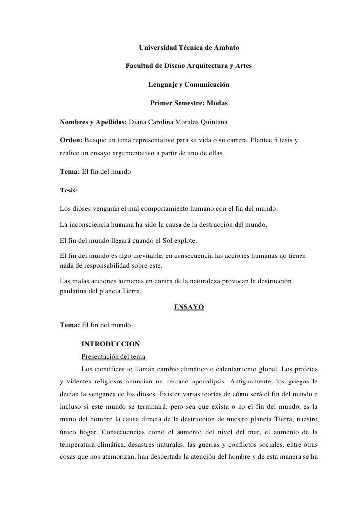 Universidad Técnica de Ambato<br />Facultad de Diseño Arquitectura y Artes<br />Lenguaje y Comunicación<br />Primer Semest...